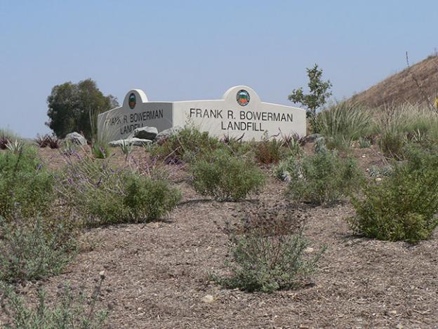 Frank R. Bowerman Landfill Entrance